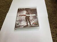 Tomb Raider (Sony PlayStation 3, 2013) new ps3