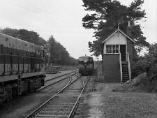 PHOTO  1975 CIE'S 141 CLASS DIESEL LOCO TRAINS MEET AT SWINFORD AS ONE OF CIE'S