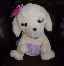 BIG BARBIE AND HER SISTERS PUPPY GRATE ADVENTURE CHASE STUFFED ANIMAL PLUSH DOG