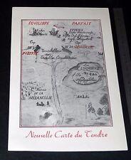 PUBLICITE 1937 LABORATOIRE PHARMACEUTIQUE ISCOVESCO GYNO GOUTTES CARTE DU TENDRE