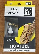 More details for bg flex lfs ligature and cap for soprano saxophone