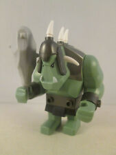 Lego Minfigure Castle - Troll with 5 White Horns and Gray Club 7038 7048