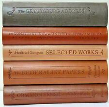 Set of 5 American History: COMMON SENSE CONSTITUTION FEDERALIST PAPERS +2 ~NEW~