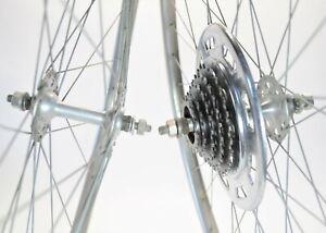 "VINTAGE FRENCH SCHWINN SPRINT S-6 ROAD BICYCLE ATOM 5 SPD 27"" WHEELS SET 122 MM"