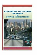 Reliability and Validity Measures of Survey Instruments: By Maringa, Paul