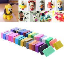 32 Colour + 5 Polymer Oven Bake Clay Block Moulding Sculpey Tool Gift