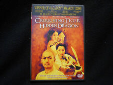 Crouching Tiger Hidden Dragon Starring Michelle Yeoh, And Chow Yun Fat Dvd