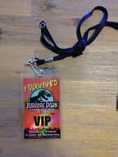 Universal Studios Florida Jurassic Park the Ride VIP Islands of Adventure Pass