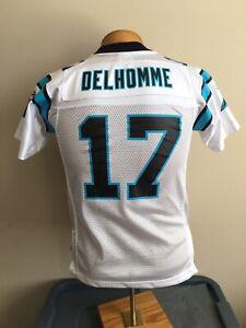 Reebok NFL Jake Delhomme #17 Carolina Panthers Jersey Youth Size M 10/12