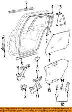 GM OEM Glass-Rear Door-Guide Channel Left 22638051