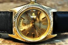 Rolex President Day Date Mens 36mm Vintage with Box / Papers model 1803