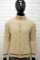 Cardigan Maglione Uomo GAS Taglia L Pullover in Lana Maglia Felpa Sweater Man
