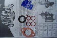 AMAL 276 PRE MONOBLOCK CARB WASHER GASKET SET. RK6/1. NEW AMAL SPARES