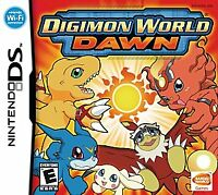 Digimon World: Dawn (Nintendo DS, 2007) GAME CARTRIDGE ONLY, TESTED AND WORKING