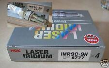 4 x NGK Zündkerzen IMR9C-9H Honda CBR 900 RR, Fireblade, SC50, 6777, IRIDIUM