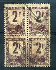 FRANCE - colis postaux n° 2, en bloc, Train, oblitéré