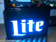 Miller Lite Neon Sign / Very Rare Blue Neons Light
