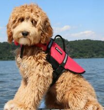 ZIPPY PAWS Dogs Adventure Life Jacket Vest Preserver Water Safety RED NEW w Tags