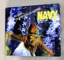 """US NAVY Mouse Pad Holographic """"How Do You Commute to Work"""" U.S.A. Diver? NEW"""