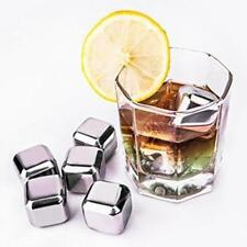 Square Stainless Steel Cube Ice Whiskey Cooler Drink Beer Chiller Stone L