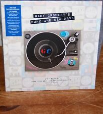 GARY CROWLEY'S PUNK & NEW WAVE 2LP CLEAR RED & BLUE 180g VINYL RSD18 NOW £25.60!