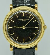Vacheron and Constantin 33mm Solid Gold manual windup watch