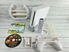 Nintendo Wii Console Bundle With Games - Wii Sports, Donkey Kong