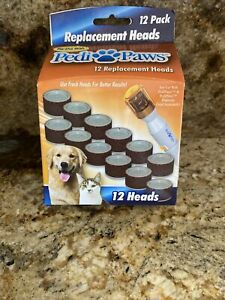 PediPaws Pet Nail Trimmers Replacements 12 Heads for Nail Clippers Dogs + Bonus