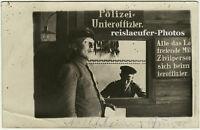 1. Weltkrieg, Polizei-Uffze., Original-Photo um 1915