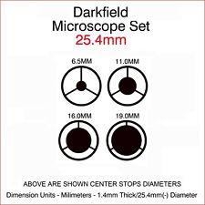 Microscope Darkfield Set 25.4mm - one inch Insertion Diameter