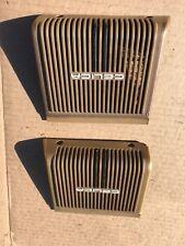 1979-1981 Toyota Celica Supra Rear Speaker Covers Oem