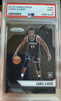 2016 Caris Levert Panini Prizm rookie Brooklyn Nets Indiana Pacers RC PSA 9 mint