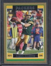AARON RODGERS 2016 TOPPS GOLD BORDER #D 752/2006