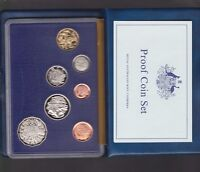 1985 Australia Proof Coin Set in Folder with outer Box & Certificate -
