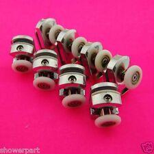 Set of 8 Single Shower Door Rollers/Runners Replacements 25mm wheels K004