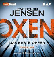 JENS HENRIK JENSEN - OXEN-DAS ERSTE OPFER  2 MP3 CD NEW