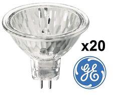 x20 GE 20w 35w 50w MR16 Halogen Spotlight Lamp 12v GU5.3 Reflector Light Bulb