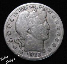1913 S Barber Half Dollar <> Vg Details