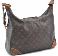 Authentic Louis Vuitton Monogram Boulogne 35 Shoulder Bag M51260 LV B0140