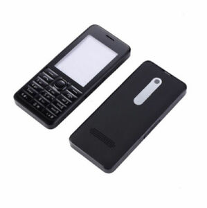 Full Housing Cover Case For Nokia Asha 301 n301 Front Frame Dual card version