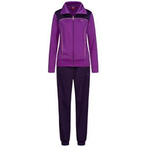PUMA Poly Damen Trainingsanzug Sport Fitness Anzug 825823-06 Gr. XS violett neu