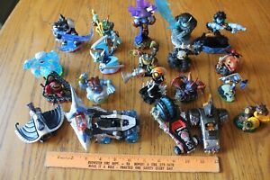 Lot of 21 Activision Skylanders Figures Tread head Fiesta Fist bump Tidepool +
