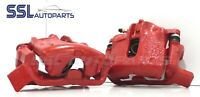 RENAULT CLIO 172 2000-2003 Pair of Front Remanufactured Brake Calipers in RED