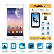 3x PELLICOLA per Huawei Ascend P7 FRONTE + PANNO PROTETTIVA DISPLAY