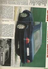 SP53 Clipping-Ritaglio 1991 Mercedes SEC Gran Coupè stella filante