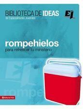 Especialidades Juveniles / Biblioteca de Ideas: Biblioteca de Ideas - Rompehielo
