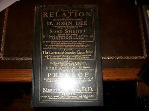 Dr John Dee: A True and faithful relation - angel magick