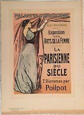 """FORAIN J.L. """"L'EXPOSITION DES ARTS DE LA FEMME"""" 1899"""