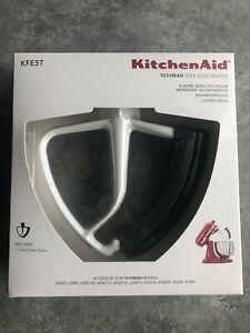 KitchenAid KFE5T Tilt-Head Flex Edge Beater White Gray Mixer Brand New NIB