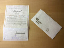 Used - CHOPARD Certificat d'Origine - LUC Watch Reloj Montre - For Collectors
